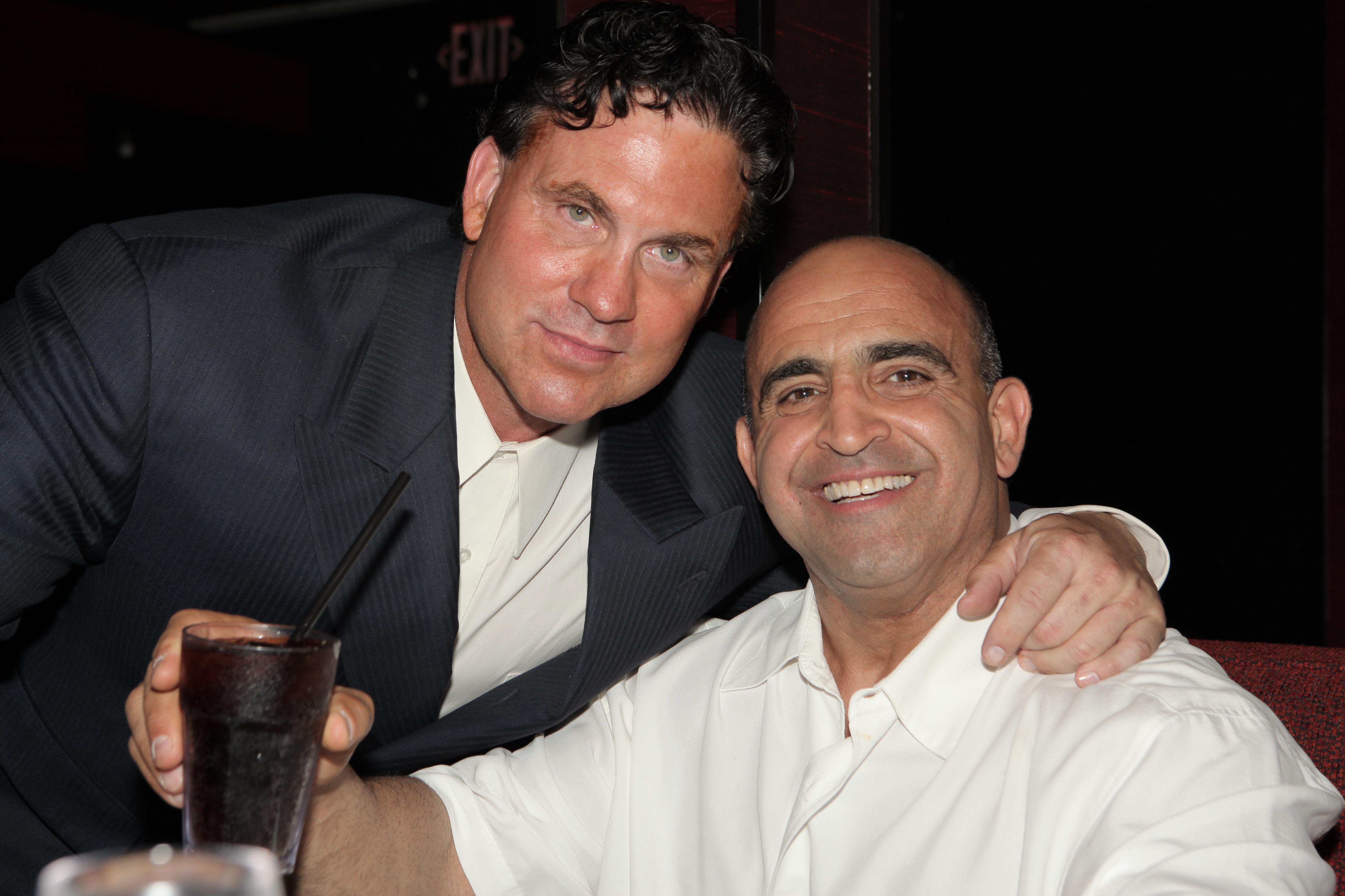 Joe Antouri with Dr. Marco Juliano