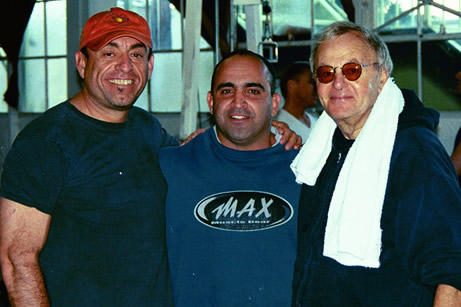 Gary Gibson, Joe Antouri and Al Kasha at the Gym.