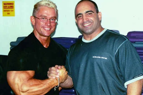 Lee Priest and Joe Antouri