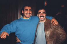 Joe Antouri and Samir Bannout in 1984