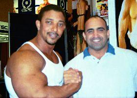 Joe Antouri and Troy Elves