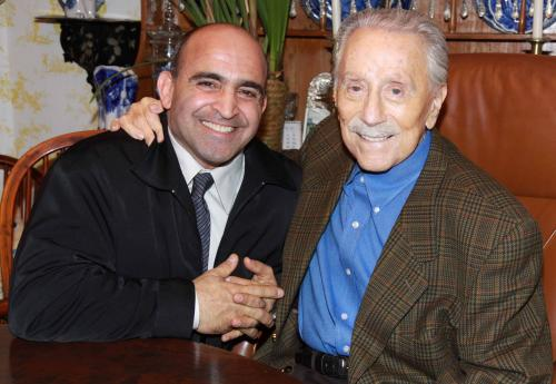 Joe Antouri and Joe Weider
