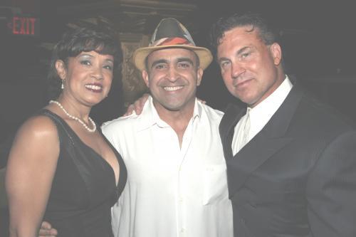 My Wife Edna Antouri, Joe Antouri and Dr. Marco Juliano