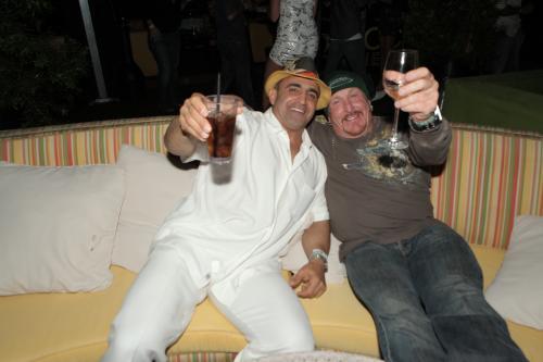 Joe Antouri and Mike Sable