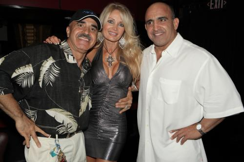 Joe Antouri, Sherry Goggin and Samir Bannout