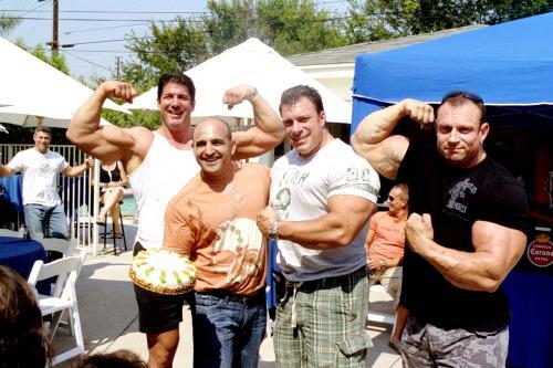 Vince Adams, Joe Antouri, Bob Cicherillo and David Brodocs at Joe's BD party.
